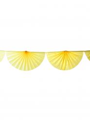 Ghirlanda di ventagli gialli