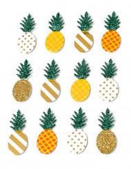 12 Adesivi Ananas