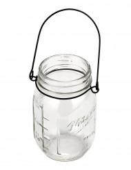 Vaso di vetro stile mason jar
