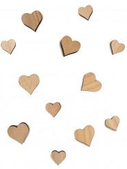12 cuori di legno