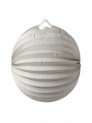 Lanterna a sfera grigia 20 cm