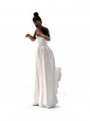 Statuina sposa bruna