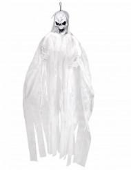 Decorazione da appendere scheletro bianco Halloween