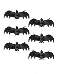 6 decorazioni pipistrello Halloween