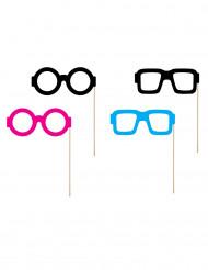 Kit 4 photobooth occhiali