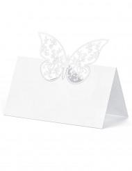10 Segnaposto Farfalla