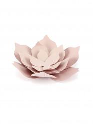 3 fiori di carta rosa 10 cm