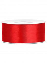 Nastro satinato rosso 2.5 cm