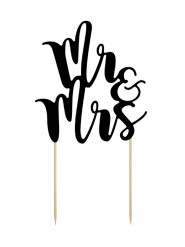 Decorazione per torta Mr & Mrs