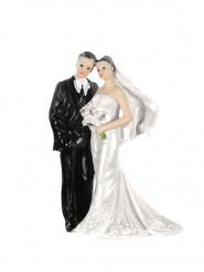 Statuina coppia di sposi in posa