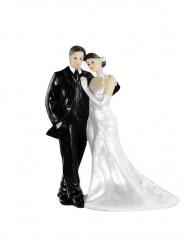 Statuina di sposi elegante