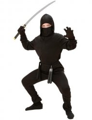 Travestimento da ninja nero per bambino