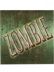 12 tovaglioli di carta Zombie Halloween