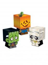 3 scatole sorpresa Trick or treat Halloween