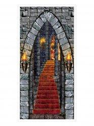 Decorazione per porta castello stregato Halloween