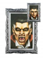 Cornice lenticolare con ritratto vampiro