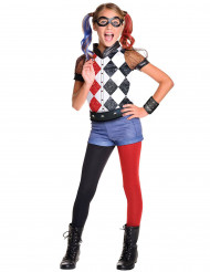 Costume deluxe Harley Quinn Super Hero Girls™ per bambina