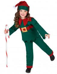 Costume da elfo di Natale bambino
