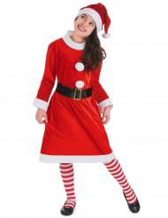 Costume da Mamma Natale per bambina