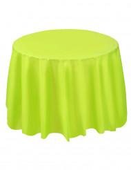 Tovaglia di plastica rotonda color verde mela