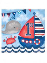 16 tovaglioli di carta marinaio