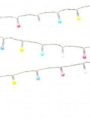 Ghirlanda luminosa color pastello