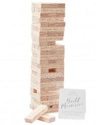 Libro per le firme in legno gioco dei mattoncini