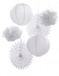 Kit misto di decorazioni bianche
