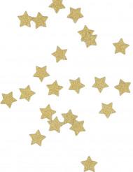 Coriandoli da tavola stelle dorate
