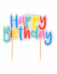 Candela Happy Birthday colorata