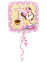 Palloncino in alluminio 1° compleanno Baby Minnie™