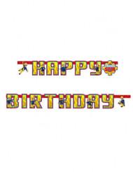 Ghirlanda Happy Birthday Sam il pompiere™