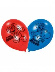 6 palloncini di lattice Super Mario™