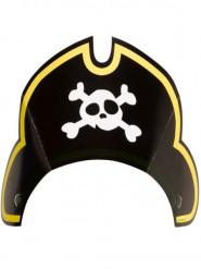 8 cappellini pirata