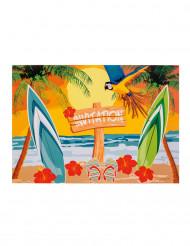 6 inviti per festa beach party