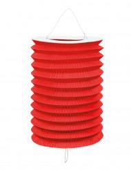 12 lampioni rossi di carta 20 cm