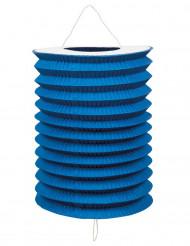 12 lampioni blu di carta 20 cm
