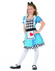 Costume fanciulla delle meraviglie per bambina