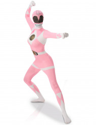 Costume seconda pelle rosa da Power Rangers™ donna