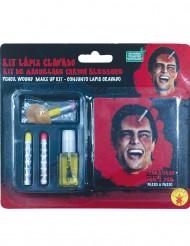 Kit per trucco con matita conficcata adulto