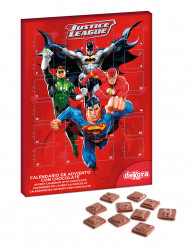 Calendario dell'avvento con cioccolatini Justice League™