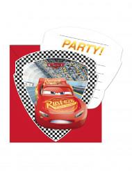 6 inviti di compleanno con buste Cars 3™