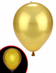 2 palloncini a LED dorati Illooms™