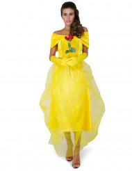 Costume giallo principessa Bella da donna