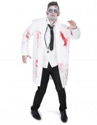 Costume dottore zombie per adulto