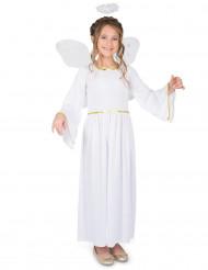 Costume da angelo del cielo per bambina