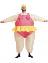 Costue gonfiabile ballerina per adulto