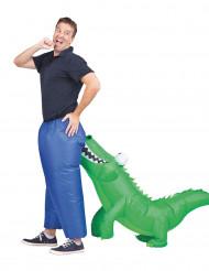 Costume gonfiabile morso di coccodrillo per adulto