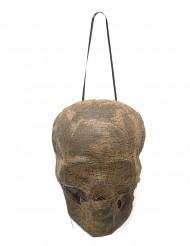 Decorazione teschio di mummia luminoso