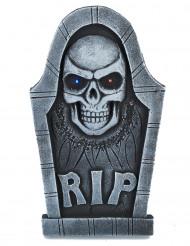 Pietra tombale con teschio luminosa Halloween